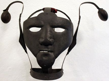 18th century scolds bridle