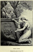 Bookplate for Anne Seymour Damer by Agnes Berry, ca. 1800